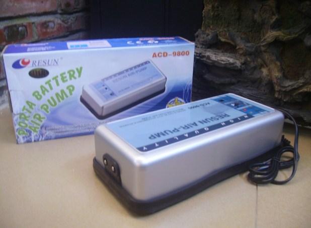 resun acd-9900 ac dc battery air pump