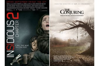 Insidious Versus The Conjuring. The Conjuring is better !