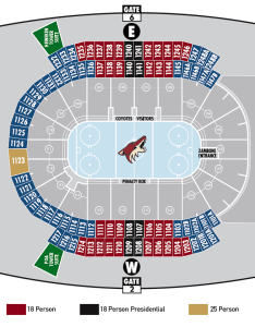 If you are interested in checking out any of their premium seating also arizona coyotes chart gila river arena tickpick rh blog