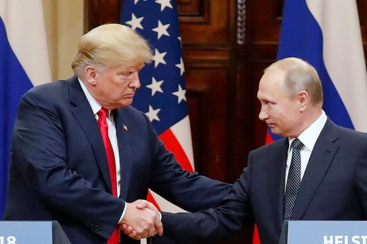 Donald Trump and Valdimer Putin