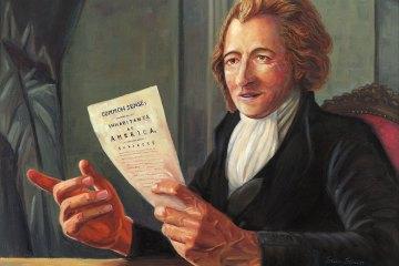 Founding father, Thomas Paine