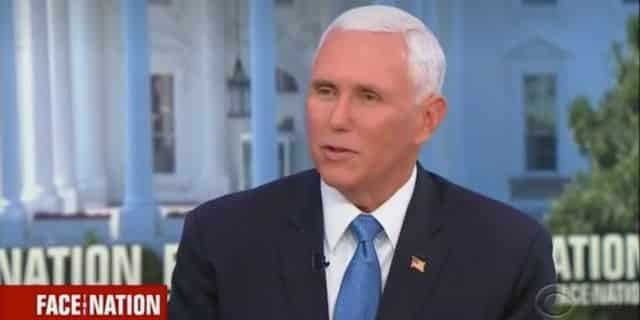 Pence Faces The Nation