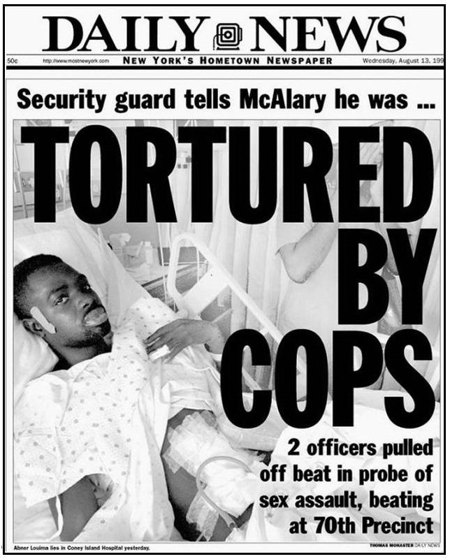 Abner Louima tortured on Giuliani's watch