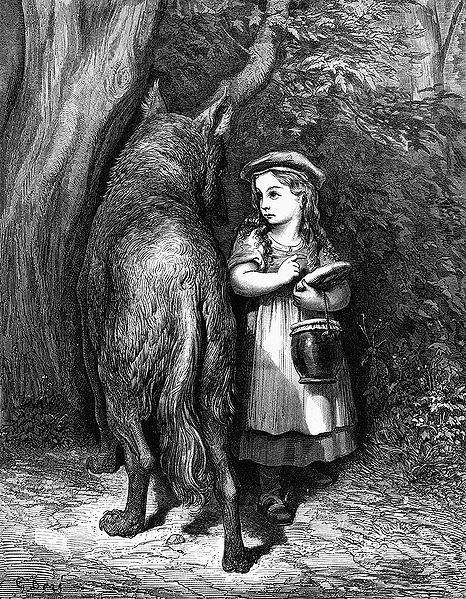 Caperucita Roja, abuso infantil en pleno siglo XVII. (2/3)