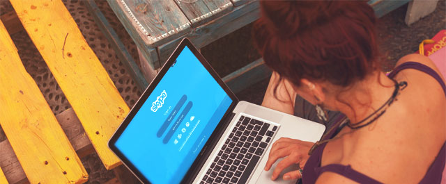 Efetue videochamadas com colegas e clientes
