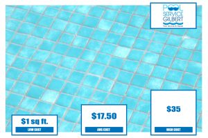 pool tile replacement cost pool