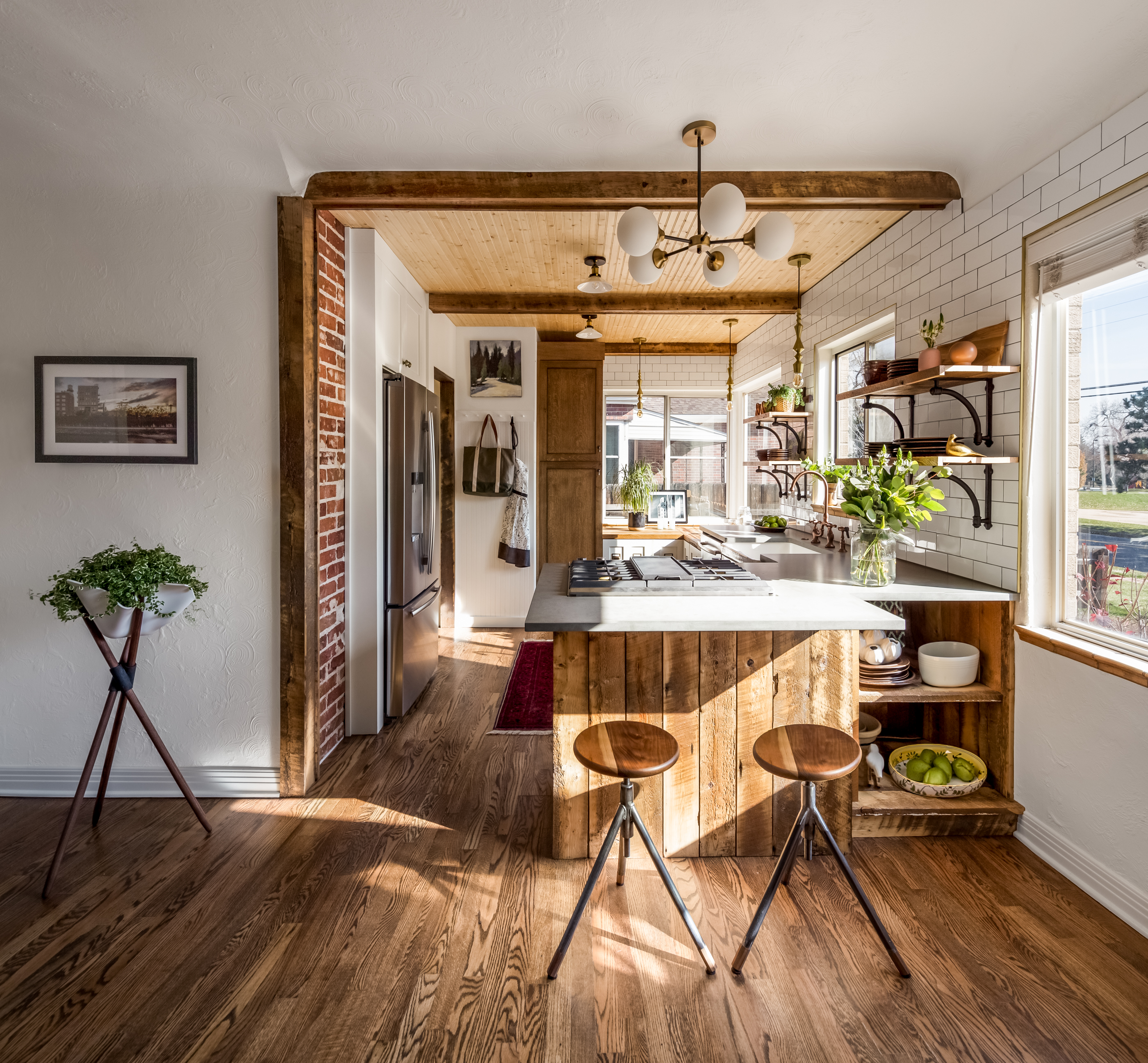 Rustic Farmhouse Kitchen Design Products Furniture And Art