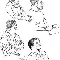 Des Visages, des Figures XV : Profils