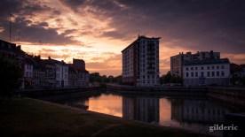 Crépuscule urbain - Lille - Photo : Gilderic