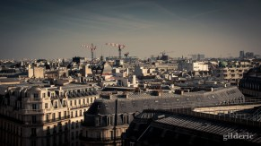 Panorama de Paris (depuis les Galeries Lafayette) - Photo : Gilderic