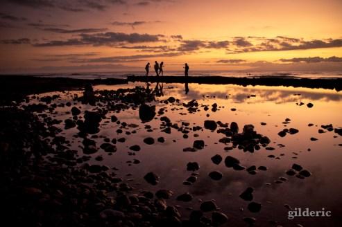 Coucher de soleil à Tenerife - Photo : Gilderic