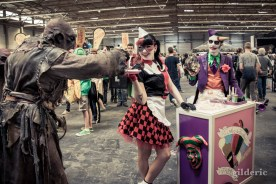 FACTS 2014 Cosplay : le Joker, Harley Quinn et un ogre