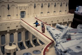 Millenium Falcon et Cité des Nuages (Star Wars en Lego, FACTS 2014) - Photo : Gilderic