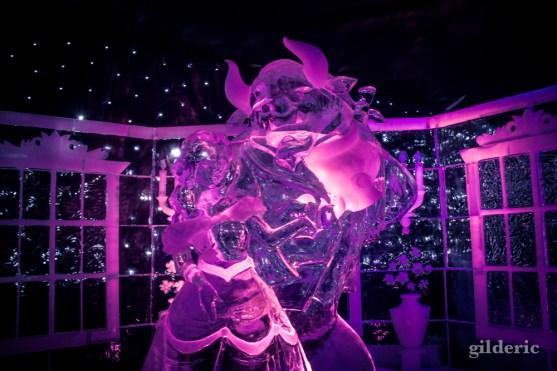 La Belle et la Bête - Disneyland Ice Dreams - Photo : Gilderic