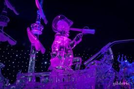 Capitaine Crochet et le Jolly Roger- Disneyland Ice Dreams - Photo : Gilderic
