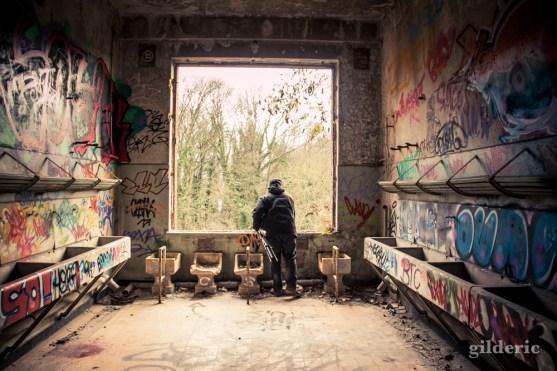 La salle d'eau - Fort de la Chartreuse