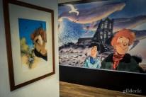 Exposition Frank Pé au CBBD