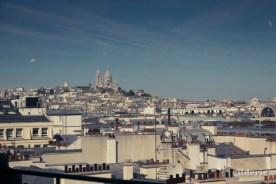 Les cloches au-dessus du Sacré-Coeur à Paris