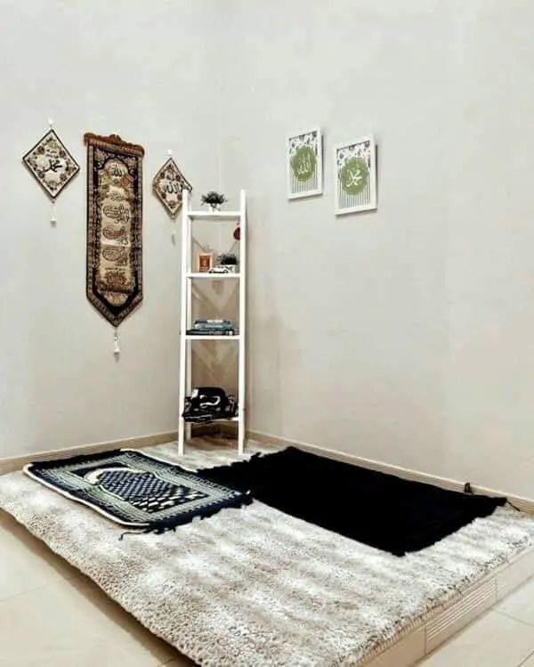 20 Inspirasi Dekorasi Ruang Solat Di Rumah Yang Boleh Anda Cuba Giler Deco