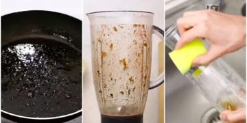 Cara cuci kuali dan peralatan dapur mudah