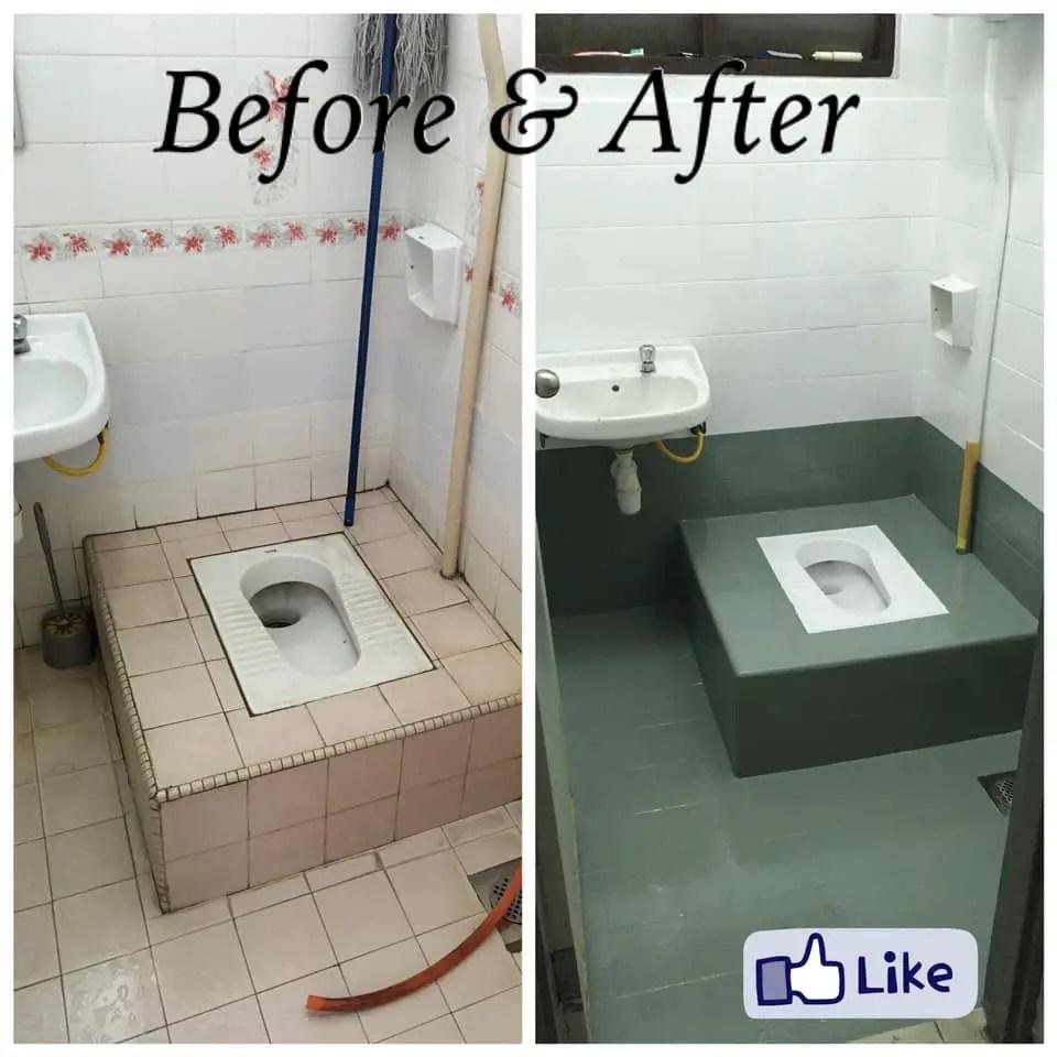 makeover bilik air