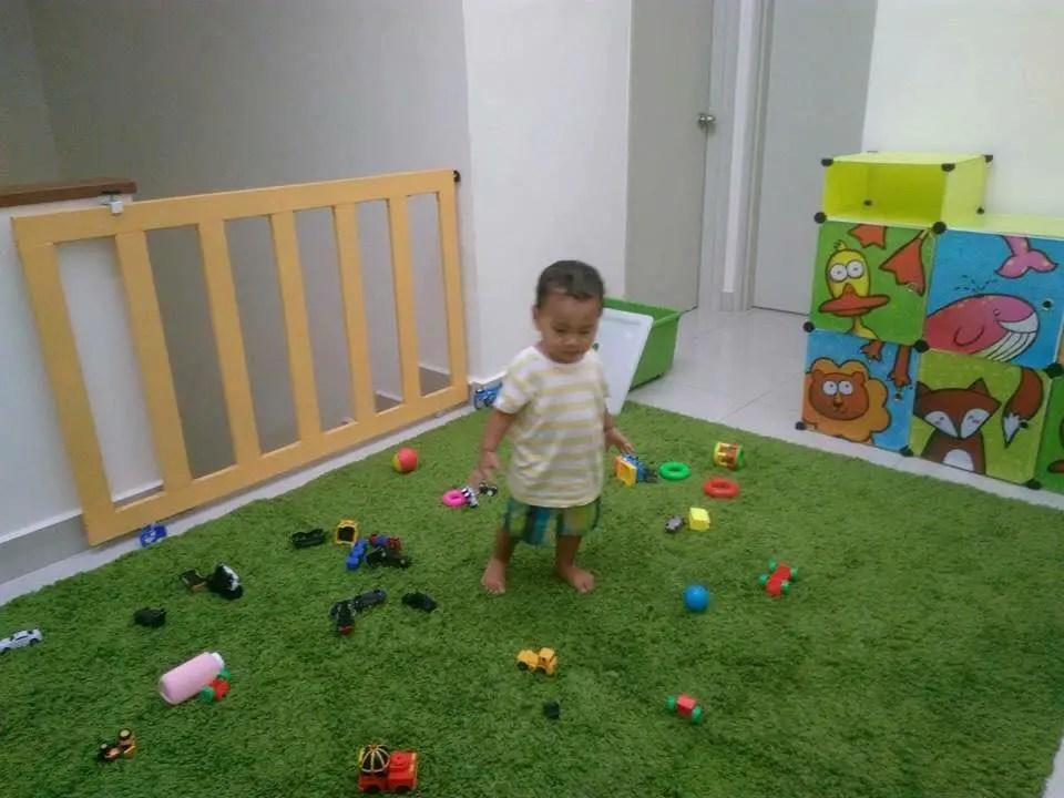 diy baby safety gate