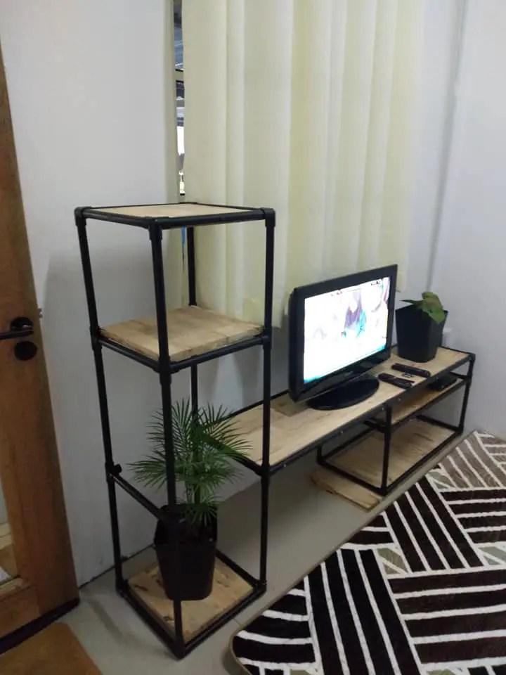 Cara DIY Rak TV
