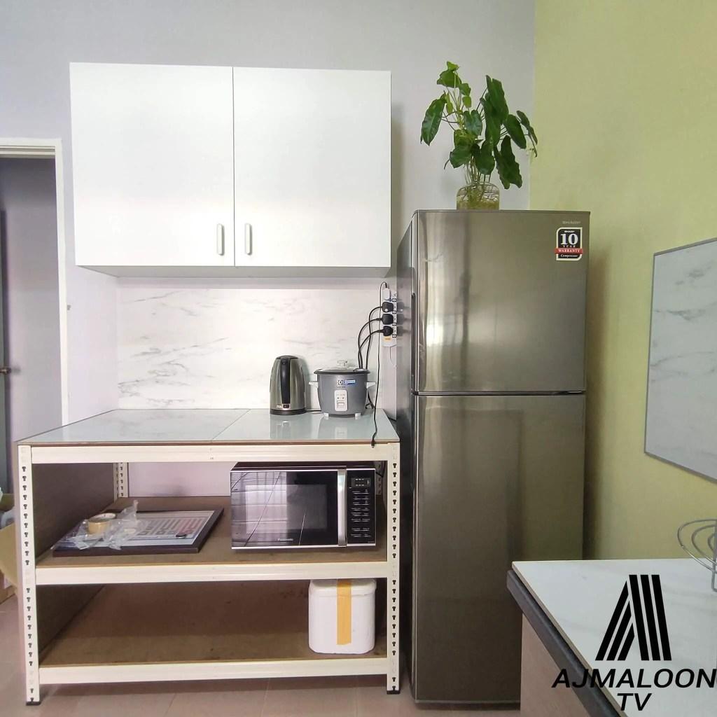 DIY Renovate Dapur Bajet
