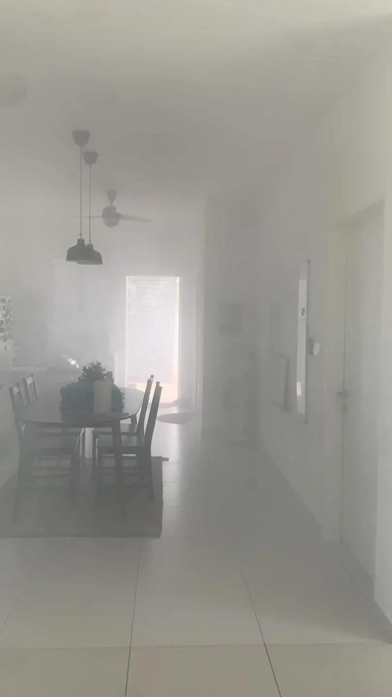 lemas asap dapur terbakar 3