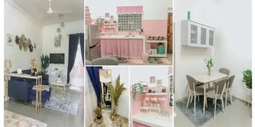 dekorasi mix & match rumah sewa
