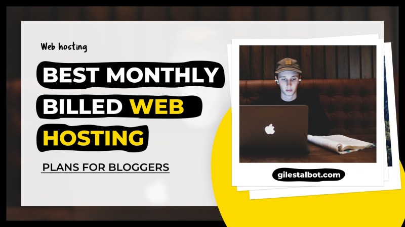 5 best WordPress web hosting plans (comparison) billed monthly for bloggers  in 2021 - Giles Talbot