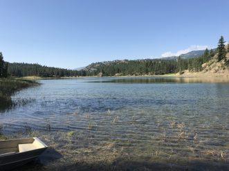 Mahoney Lake.