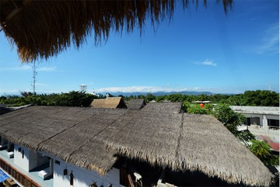 View to Lombok