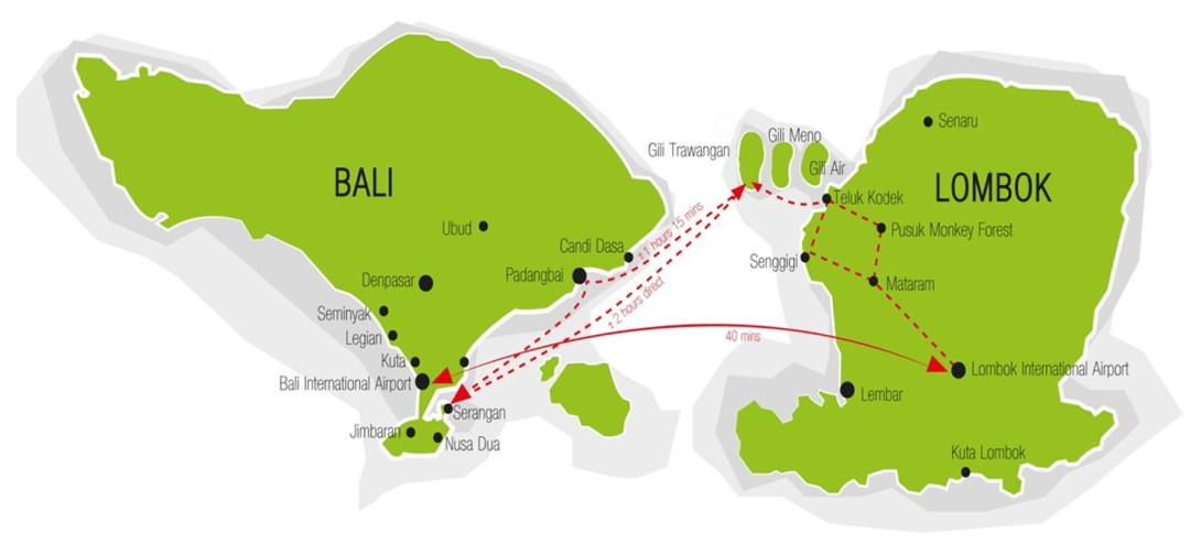 How to get to gili trawangan gili mansion gili trawangan from bali or lombok gumiabroncs Gallery