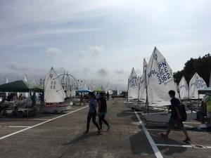 国際交流日本ジュニアヨットクラブ競技大会