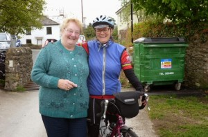 When Gill met Gill from Reed in Lancashire. She loved our story.