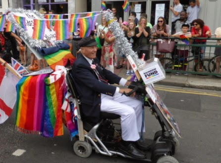 The oldest Gay in Brighton. Or so he claimed.