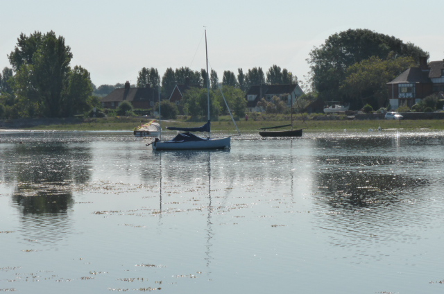 Time for reflection. Bosham harbour.