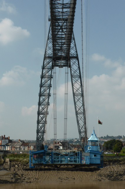 I finally got to ride a transporter bridge
