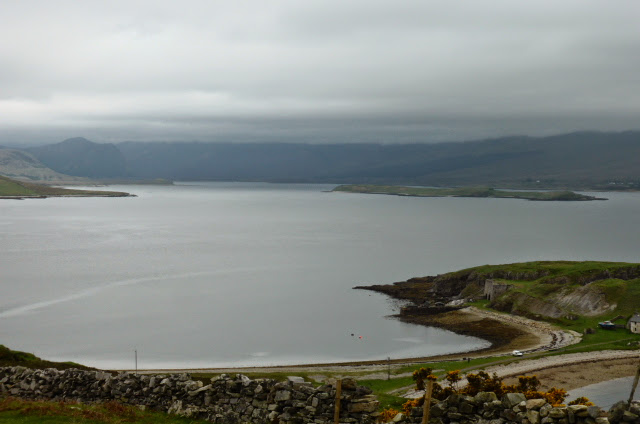Looking back down on Loch Eriboll