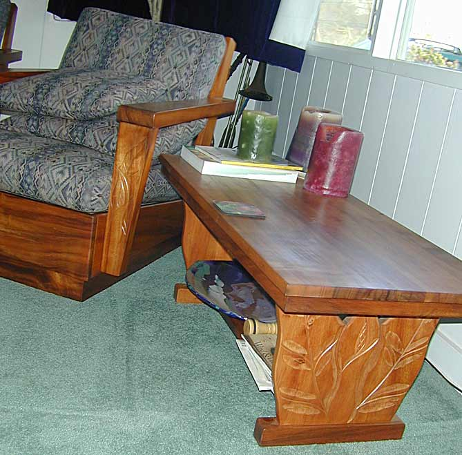 Wood Living Room Table