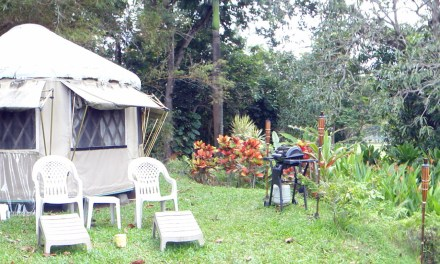 The Yurt in Hana