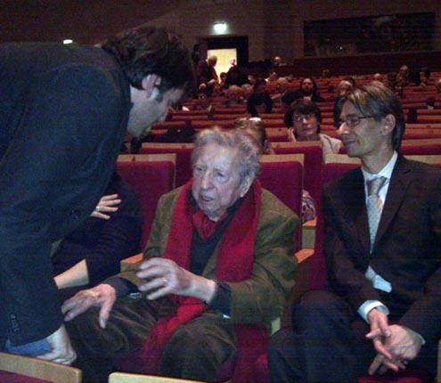Henri Dutilleux le 10/12/2010