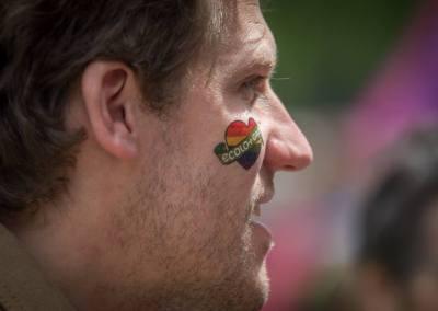 Gilles Vanden Burre, pride, bruxelles