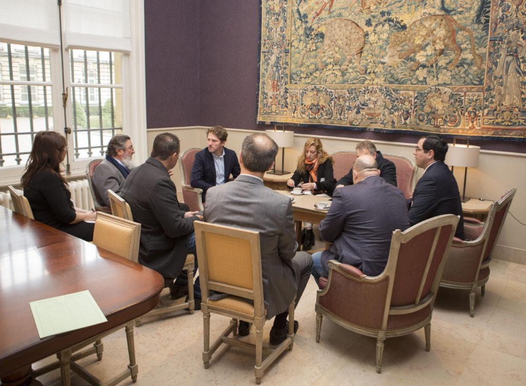 Rencontre avec des parlementaires argentins