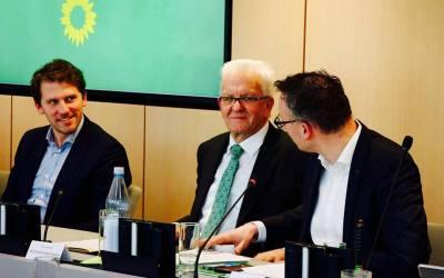Rencontre avec les écolos allemands à Stuttgart