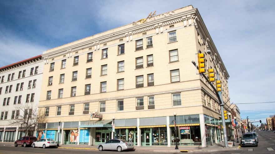 Historic Plains Hotel Cheyenne Wyoming