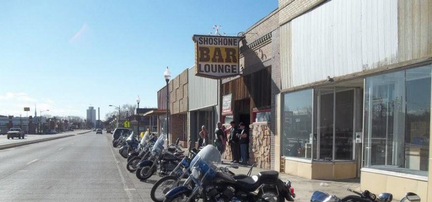 Shoshone Bar in Lovell