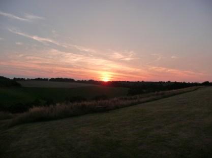 Witheridge sunset