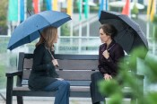 "THE X-FILES: L-R: Gillian Anderson and guest star Annabeth Gish in the ""My Struggle II"" season finale episode of THE X-FILES airing Monday, Feb. 22 (8:00-9:01 PM ET/PT) on FOX. ©2016 Fox Broadcasting Co. Cr: Ed Araquel/FOX"
